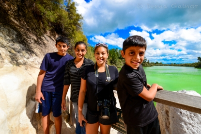 Wai-o-tapu New Zealand