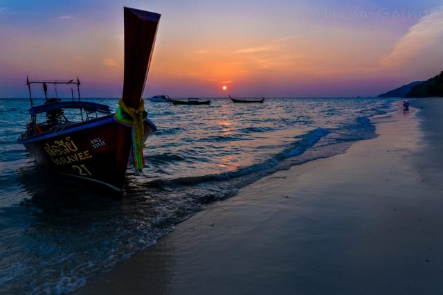 A Gorgeous Phi Phi Island Sunrise