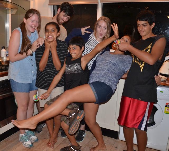 Gramly kids and us
