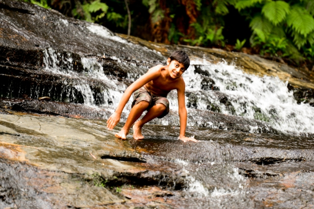 Hiking and swimming in waterfalls - Blue Mountains