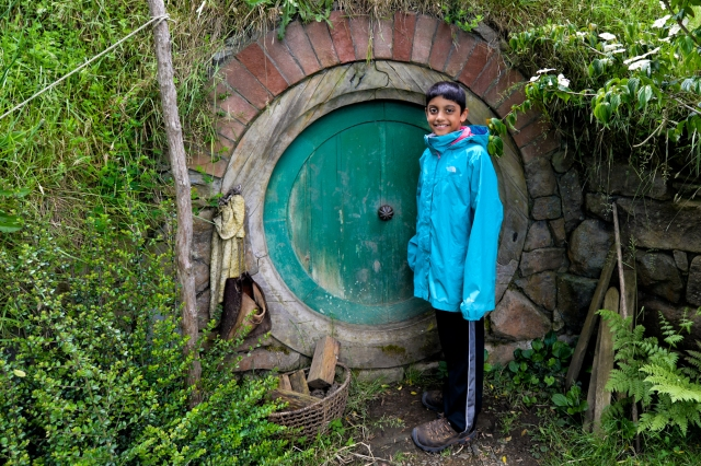 Danny at the Hobbit Home