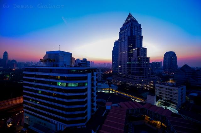 Bangkok at Sunrise