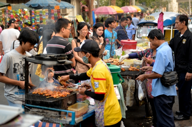 Bangkok Street Market - Photo by Deena