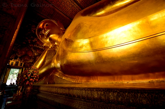 Reclining Buddha - Photo by Deena