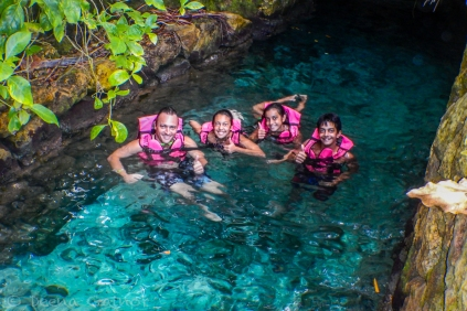 Tubing Xcaret's Underground Rivers