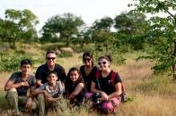 Rhino spotting in Zambia
